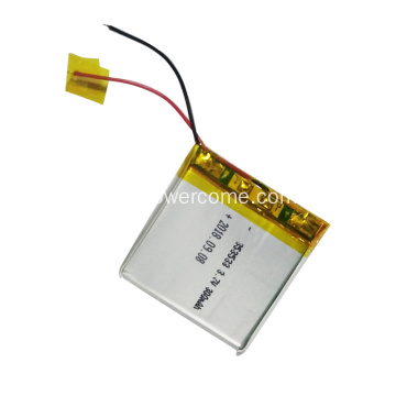 Toute la batterie 343231 3.7V 300mAh Lithium Polymer Battery